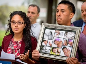 Mia Chavez's parents, Alejandra Gonzalez and Mario Chavez