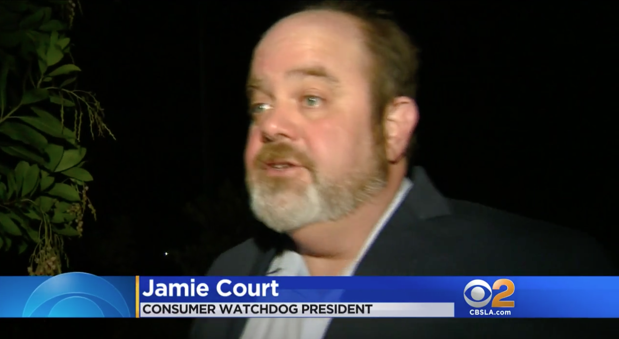 Jamie Court talks to KCBS about Tesla crash