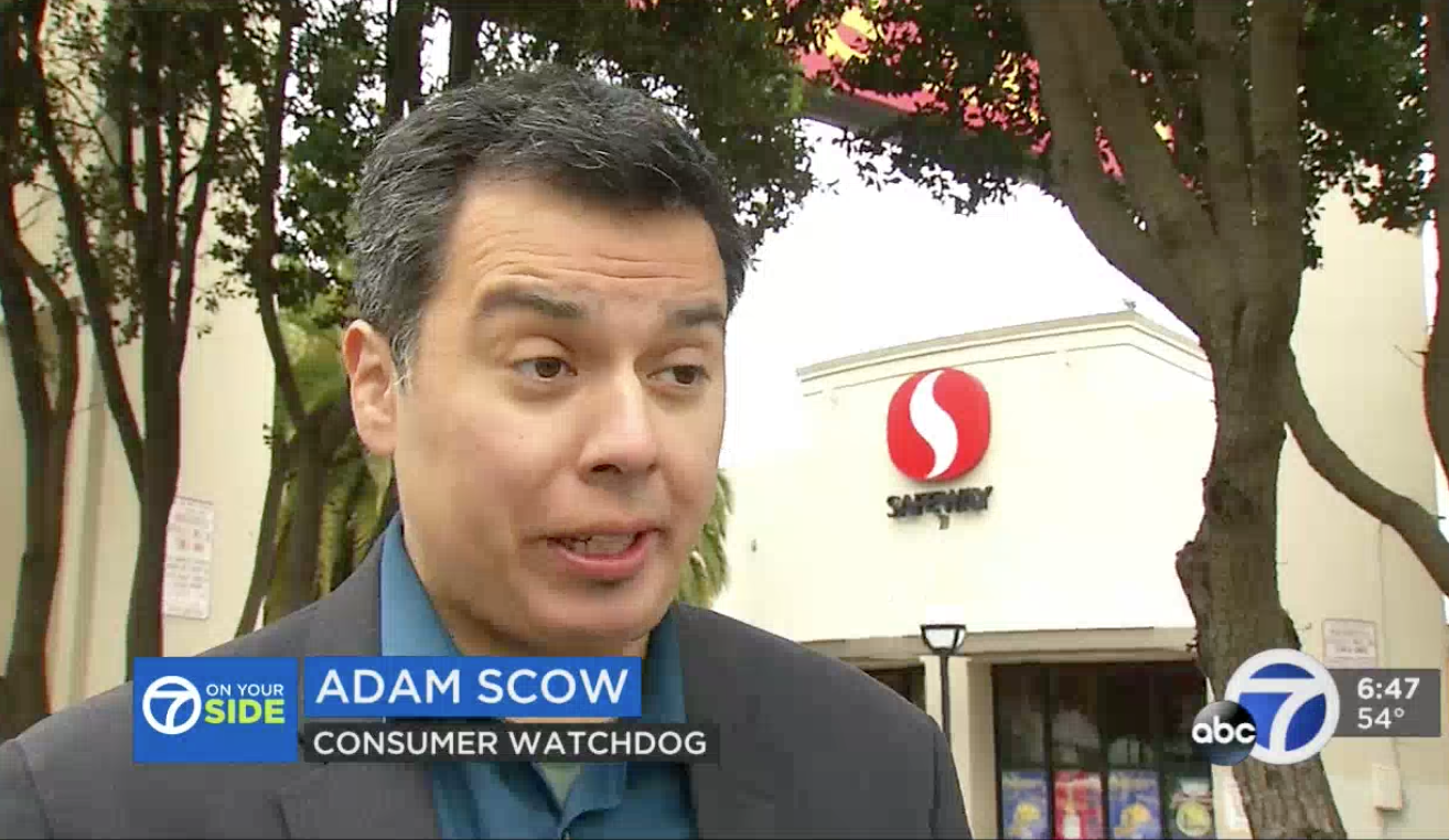 Adam Scow of Consumer Watchdog