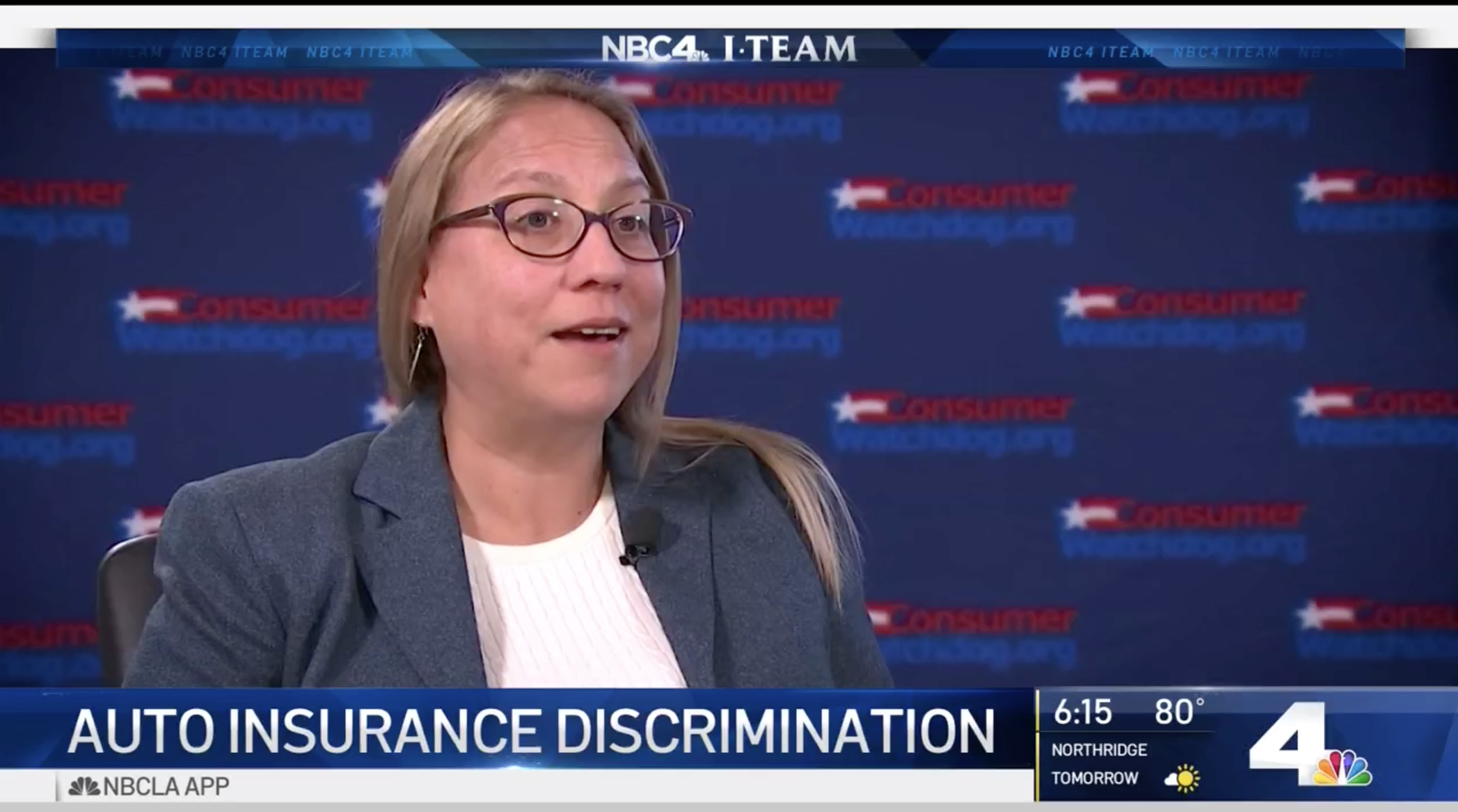 Carmen Balber on insurance discrimination