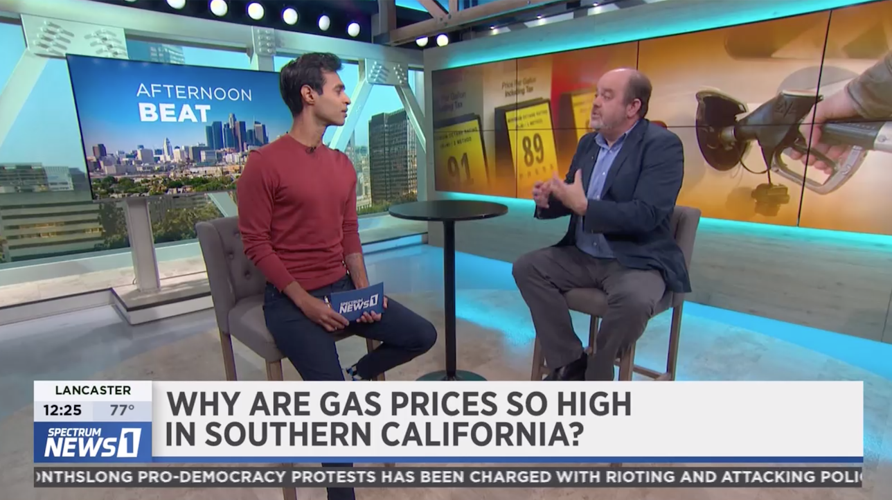 Jamie Court on high gas prices in ca