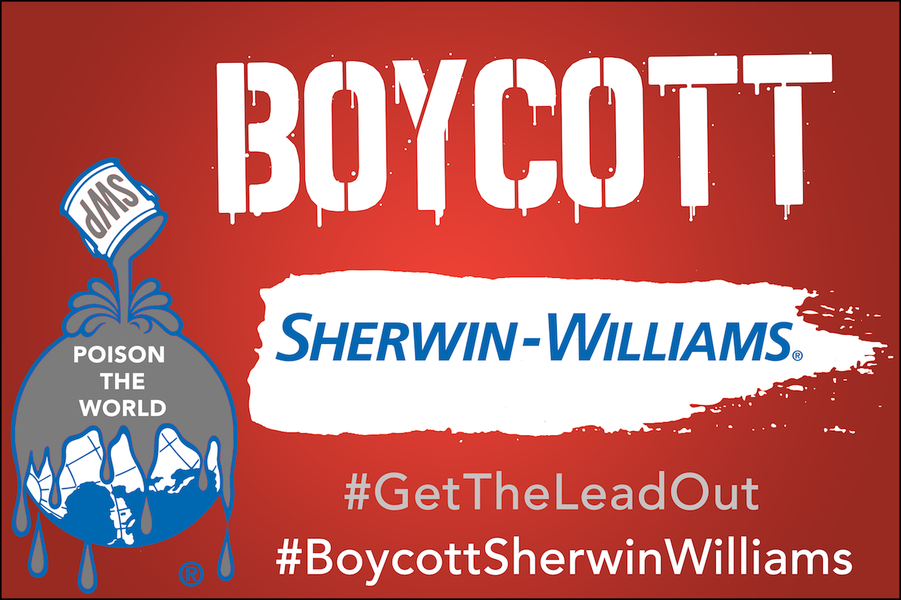 boycott sherwin williams paint consumer watchdog