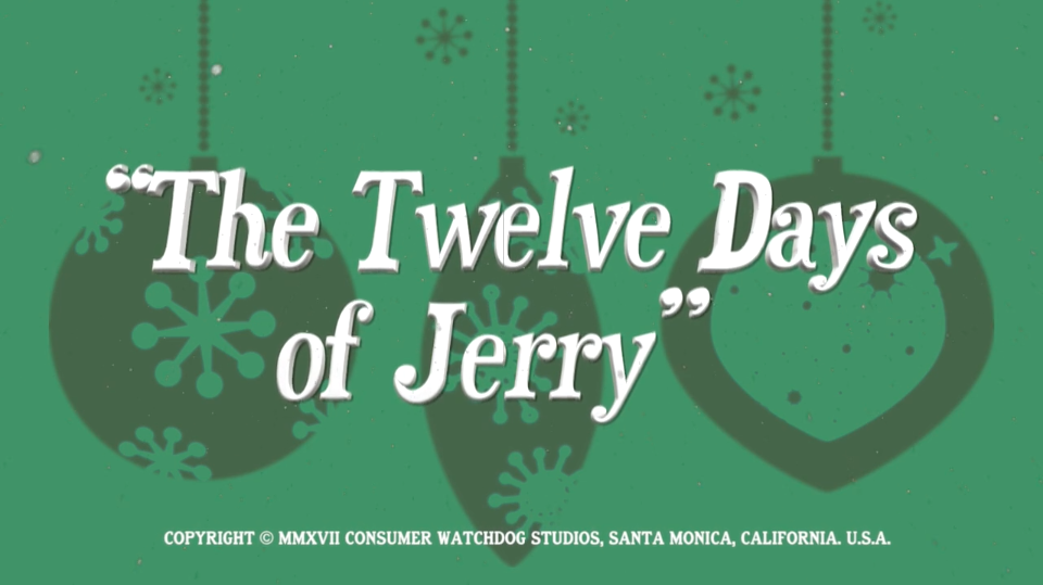 twelve days of jerry - Dirty Christmas Song