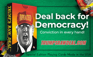 Trumps Raw Deal Playing Cards