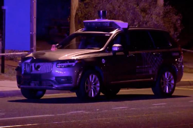 Self-Driving Uber Kills Arizona Woman