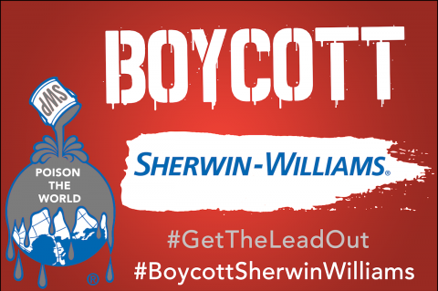 Boycott Sherwin Williams!