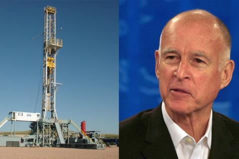 Jerry Brown Oil Rig
