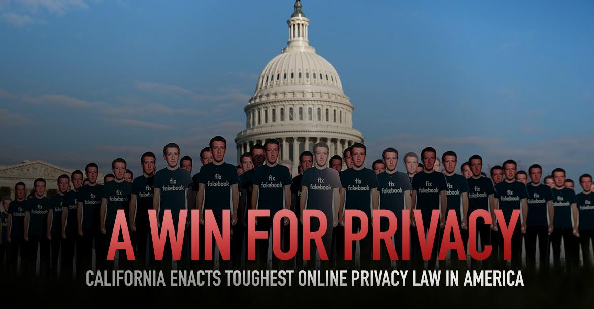 Privacy Win in California
