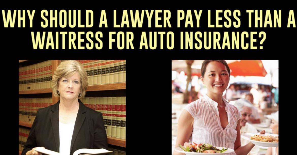 Should a Lawyer pay less than a Waitress?