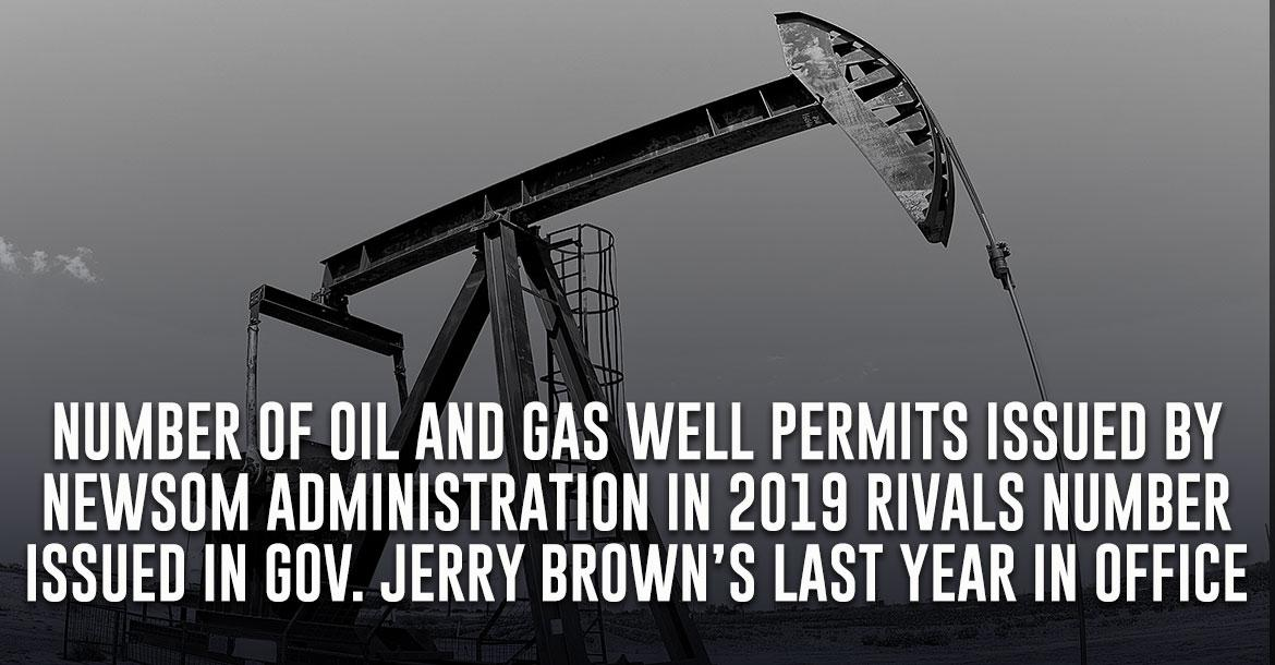 Oil well approvals under Newsom