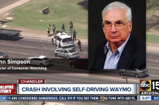 John Simpson, Privacy and Technology Project Director of Consumer Watchdog, Weighs in on Arizona Crash