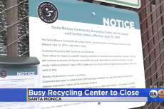 recycling center closing