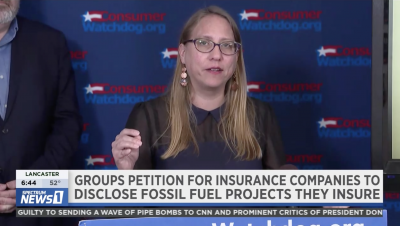 Carmen Balber speaks out on insurance industry coverage of climate disasters