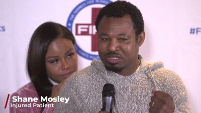 Shane Mosley & Tina Pisani speak at FIPA Launch