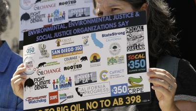 California Protests Big Oil