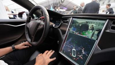 Driverless Car Dashboard